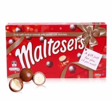 【圣诞 满75纽免邮】Maltesers麦提莎麦丽素夹心巧克力球360g 礼盒装零