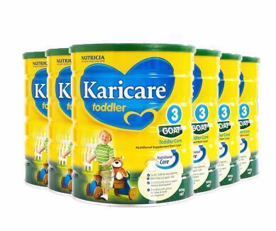 【圣诞囤货】Karicare 可瑞康婴儿羊奶粉 3段 900g6罐 直邮直邮包税