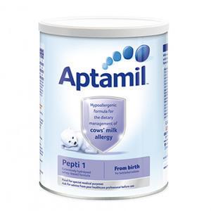 【奶粉满减】Aptamil 爱他美 深度水解抗牛奶蛋白过敏配方奶粉1段(0-6m) 800g
