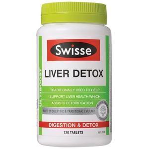 【澳洲P4L药房】【限时特价】Swisse 强效护肝片 120片