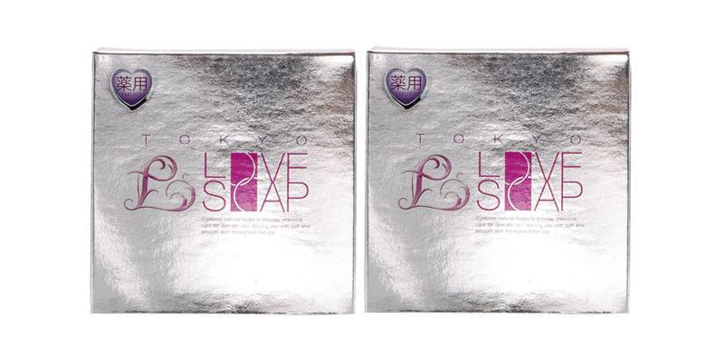 【2件包邮装】Tokyo Love soap 私处美白皂 2100g/块(银色) 优惠价格:109元