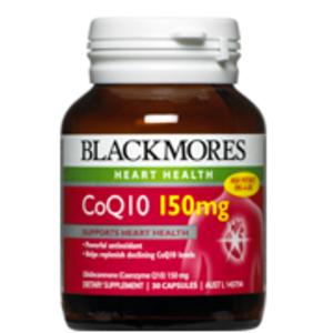 【澳洲P4L药房】【限时特价】Blackmores 澳佳宝 高效辅酶Q10 150mg胶囊(抗衰老、护心保肝) 30粒