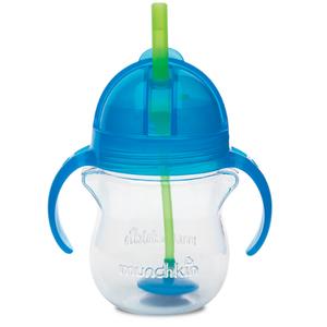 【澳洲P4L药房】【限时特价】Munchkin 麦肯齐 满趣健 婴儿防咬防漏重力吸管杯(蓝色)207ml