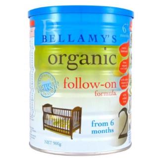 Bellamy's 贝拉米 有机婴幼儿奶粉 2段 6-12个月 900g