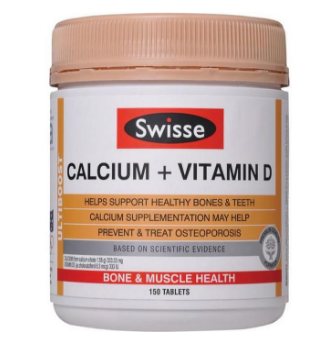 Swisse 钙+维生素D片 150片(成人补钙)