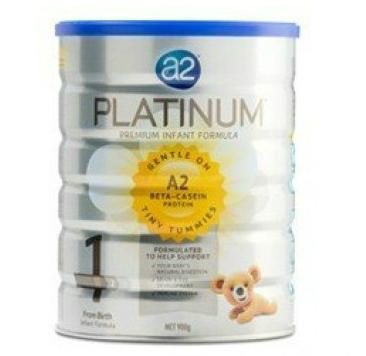【超级断货王】A2婴儿奶粉Platinum白金一段900g约¥235