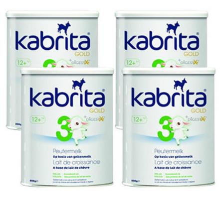 【荷兰DOD】Kabrita 佳贝艾特 金装羊奶粉 3段(适合12个月以上)800g  4罐组合装