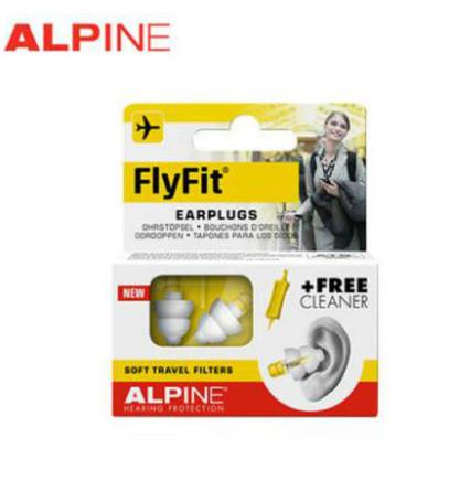 【荷兰DOD】Alpine 航空飞行FlyFit减压降压耳塞 成人款 1对