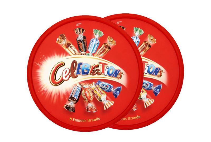 【2件包邮装】Mars 玛氏 Celebrations 巧克力什锦礼盒装 2750g/盒 优惠价格:209元