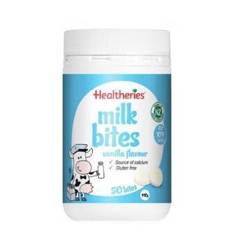【满69纽免邮】Healtheries 贺寿利钙片香草味 香浓高钙奶片 50片