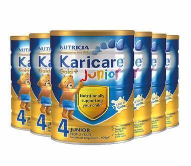 【包邮包税】Karicare 可瑞康金装婴儿奶粉 4段900g6罐 新西兰直邮包邮包税