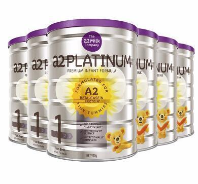 【包邮包税】A2 Platinum白金系列婴幼儿奶粉一段 900g6罐 包邮包税