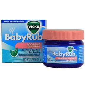 【澳洲P4L药房】Vicks 维克斯 婴幼儿通鼻舒缓膏 50g