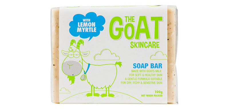 The Goat Skincare 纯手工山羊奶皂 100g(柠檬香桃) 优惠价格:22元