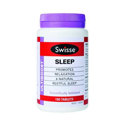 【澳洲RY药房】Swisse 天然草药睡眠片 100粒 (促进睡眠/改善睡眠质量)