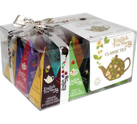 【荷兰DOD】English Tea Shop 英国有机经典茶包 礼盒装 12包