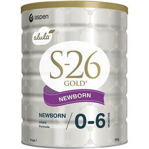【澳洲P4L药房】S-26 Gold 澳洲惠氏金装一段奶粉 (0-6个月的婴儿) 900g