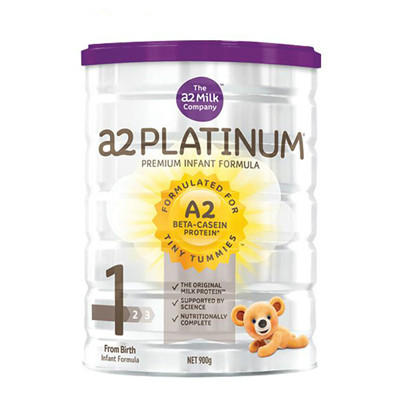 【新西兰PD】【三罐包邮装】【】A2 白金版婴幼儿奶粉 900g 1段 仅需NZ$145.00/约¥669