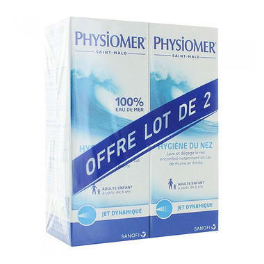 Physiomer 菲丝摩尔鼻腔喷雾 115mlx2 6岁以上适用