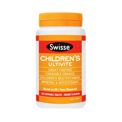 【澳洲RY药房】Swisse 儿童专用复合维生素(多矿物质/抗氧化) 120片