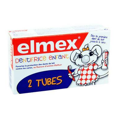 Elmex 易学 2-6岁儿童牙膏 2x50ml
