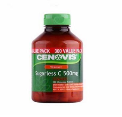 Cenovis 维生素C含片 C500mg 300粒  NZ$19.9 约97元