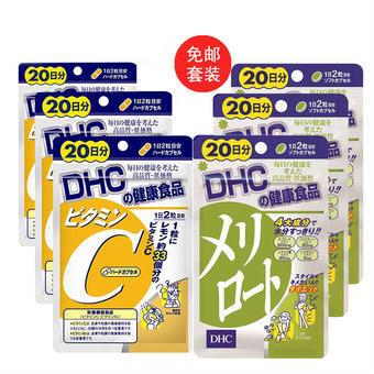 【多庆屋】【免邮】DHC 下半身纤体瘦腿片 40粒 20日3 +DHC 维生素C胶囊 40粒 20日3  约¥169