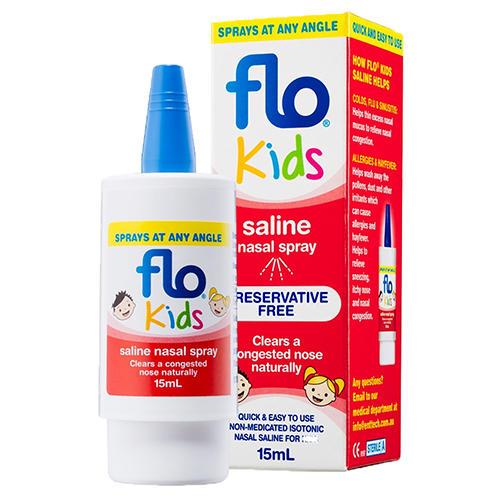 Flo 婴幼儿专用洗鼻喷雾 15ml (缓解感冒过敏)