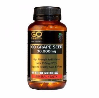 【满75纽减7纽】Go Healthy 高之源葡萄籽 高含量葡萄籽精华胶囊 60000mg 120粒