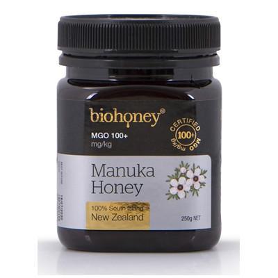 【新西兰PD】【凑单品】Biohoney 麦卢卡蜂蜜 MGO100+ 250g 仅需NZ$18.95/约¥88
