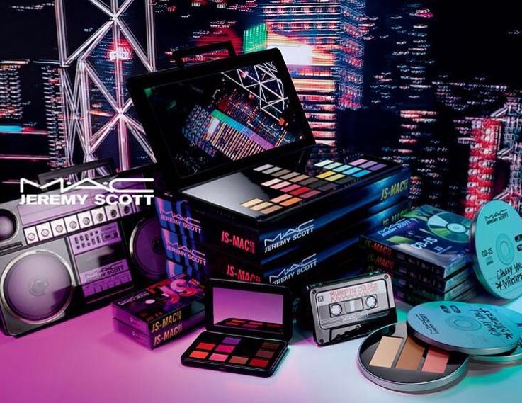 Jremy Scott与MAC联名推出复古彩妆系列