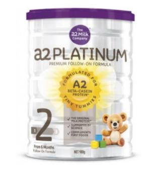 【澳洲PO药房】A2 白金系列婴幼儿配方奶粉 (2段) 6-12个月 900g