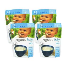 Bellamy&#039s 贝拉米 婴幼儿有机米粉(4个月以上)125g4