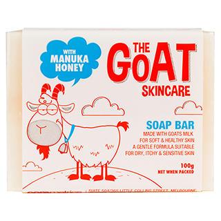 The Goat Skincare 纯手工山羊奶皂(麦卢卡蜂蜜味)100g