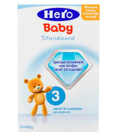 【荷兰DOD】Hero Baby 婴儿配方奶粉3段 800g (10个月以上)