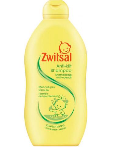 【荷兰DOD】Zwitsal 婴儿无泪配方防打结洗发露 500ml