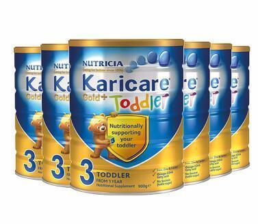 【包邮包税】Karicare 可瑞康金装婴儿奶粉 3段 900g6罐