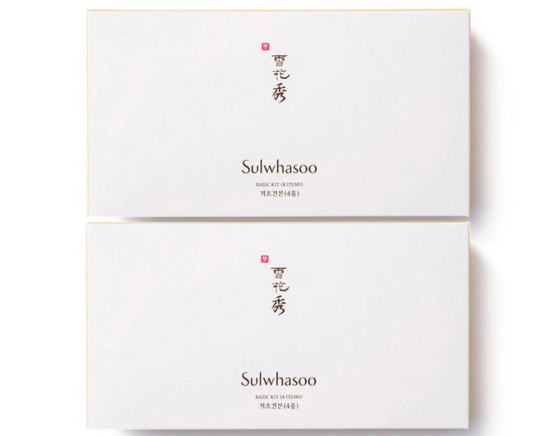 【2件包邮装】Sulwhasoo 雪花秀 面部基础护理4件套(中样) 2套 优惠价格:139元(用码HTC010)