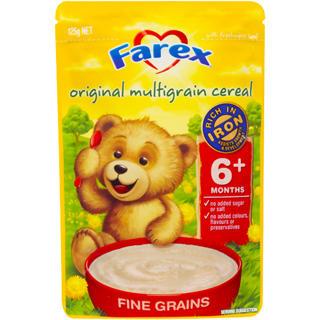 Farex 多谷物混合婴儿高铁米糊 125g(6月以上的宝宝)