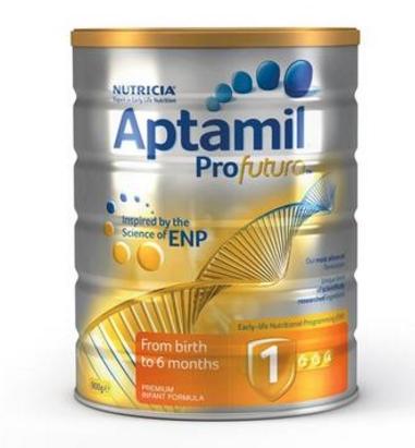 【澳洲PO药房】Aptamil 澳洲爱他美 白金装婴幼儿配方奶粉(1段) 900g