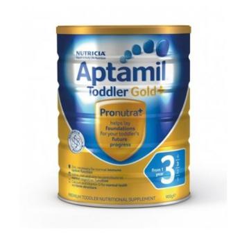 【澳洲PO药房】Aptamil 澳洲爱他美 金装加强型婴幼儿配方奶粉(3段)1岁+ 900g