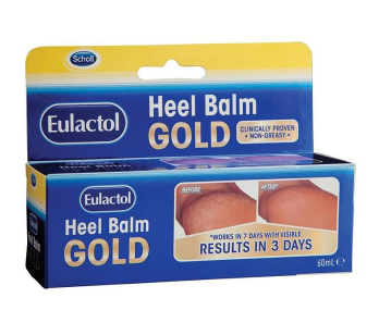 【澳洲CD药房】Scholl爽健金装Eulactol 防裂护脚霜/脚跟龟裂膏 60ml
