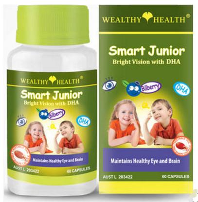 【澳洲PO药房】Wealthy Health富康 儿童护眼鱼油60粒