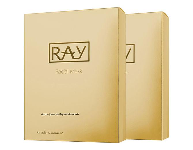 【2件包邮装】RAY 蚕丝面膜 金色款 210片/盒(淡斑抗皱敏感肌肤补水) 优惠价格:159元