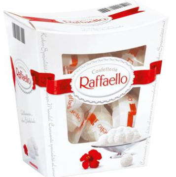 【德国DC】Ferrero 费列罗 Raffaello拉斐尔 雪莎椰蓉杏仁酥球白巧克力 230g