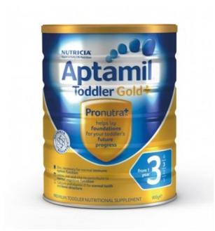 【澳洲CD药房】Aptamil  Gold PLUS 3 澳洲爱他美金装 加强3段(1岁以上) 900g