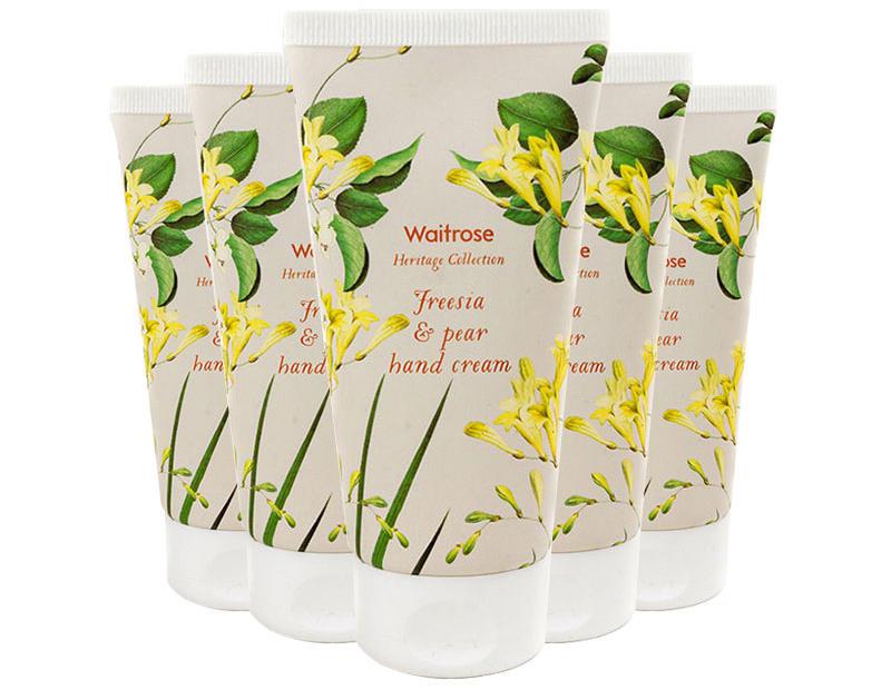 【5件包邮装】Waitrose 经典系列 小苍兰与梨子味护手霜 575ml /支 优惠价格:95元