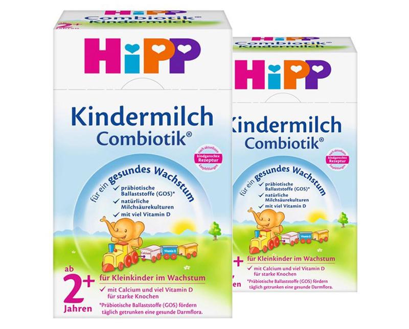 【2件包邮装】Hipp 喜宝 有机益生菌奶粉 2600g/罐(适合2岁以上幼儿) 优惠价格:269元