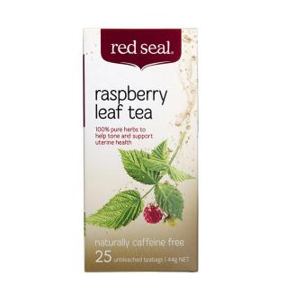 【澳洲CD药房】Red Seal 红印 覆盆子叶天然软化宫颈茶 25包/盒
