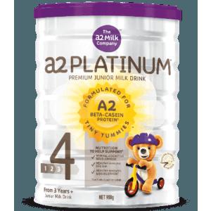 【澳洲P4L药房】【限量补货】A2 白金系列4段幼儿配方奶粉(3岁+)900g